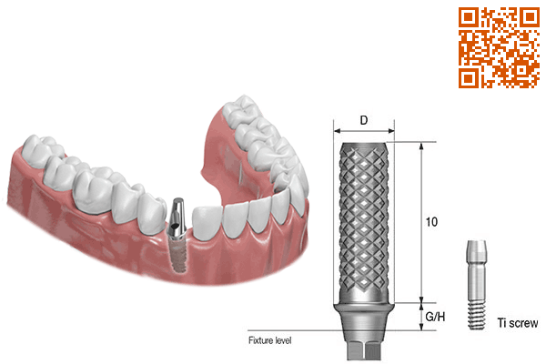 دندانپزشکی,Temporary Abutment,Temporary Abutment,Osstem,آستم,اوستم