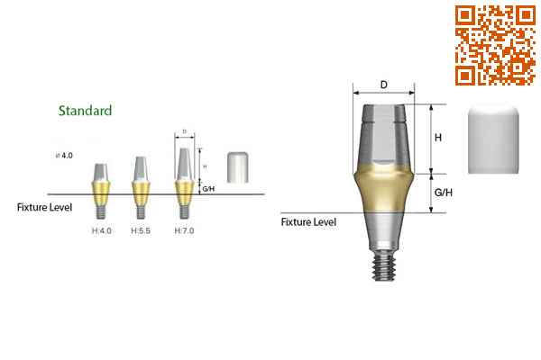 implant,Rigid abutment,Osstem,آستم,اوستم
