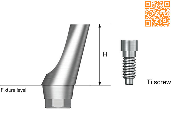 SS Angled Abutment SS Angled Abutment