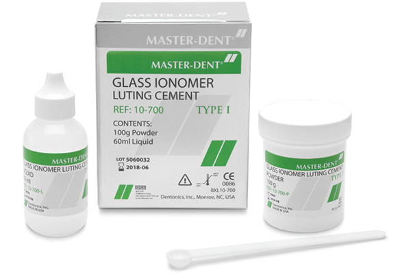 سمان گلاس آینومر،سلف کیور،مستردنت،masterdent,GlassIonomer Luting TYPE 1